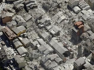 Italy earthquake: Flattened towns turn to rubble