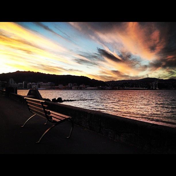 Oriental Bay, Wellington NZ