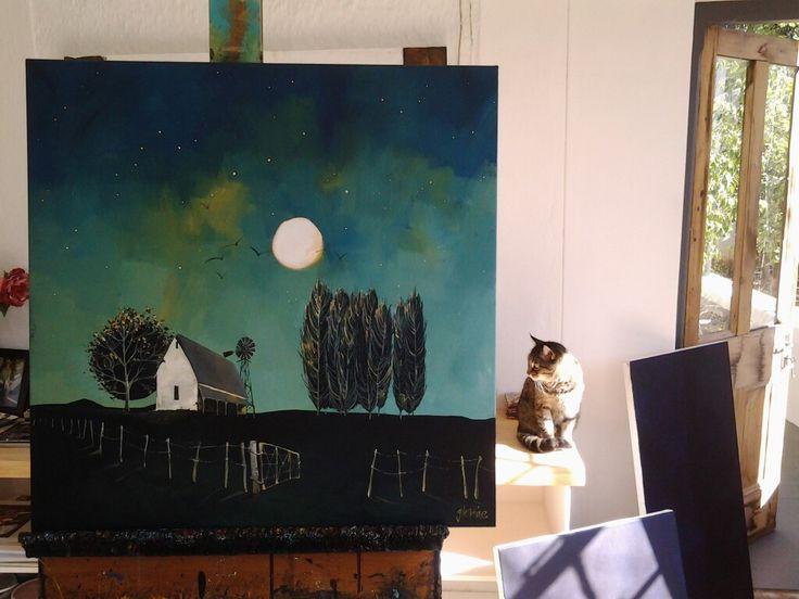 'Karoo moon' Glendine