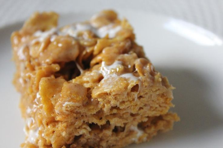Recipe for Peanut Butter Cornflake Marshmallow Bars by freshfromthe.com Mellie and i love these