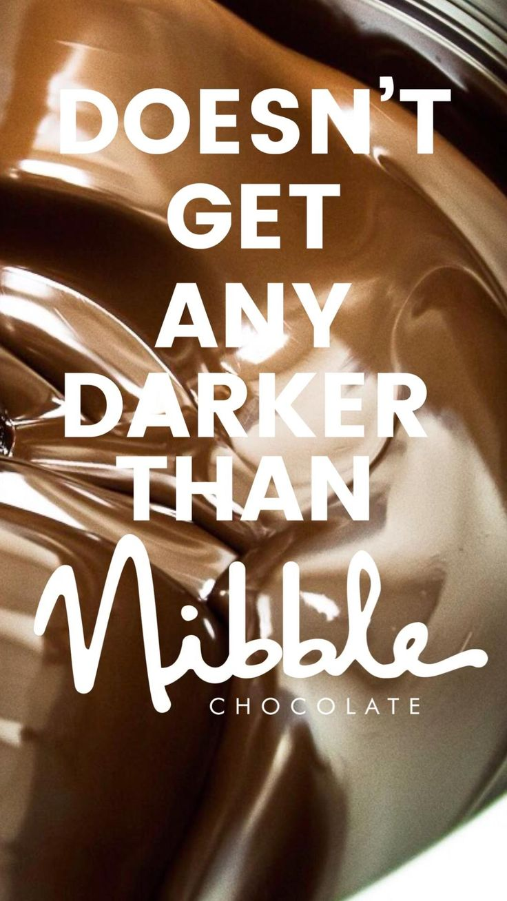 Nibble Organic Dark Chocolate San Diego's Chocolate