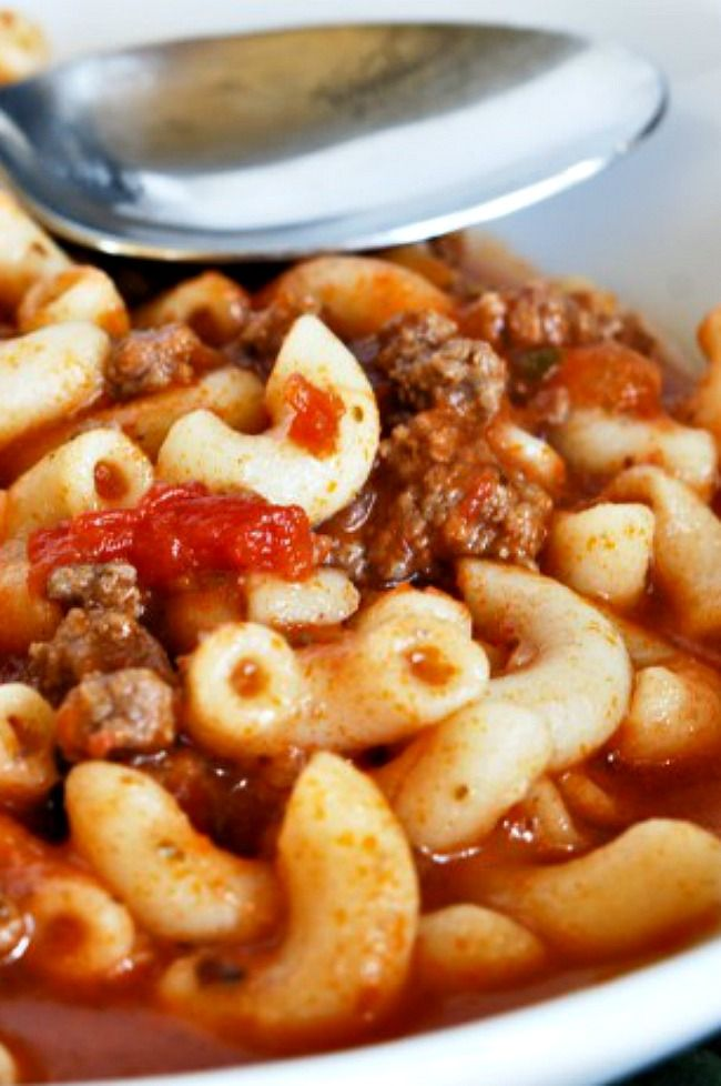 American Goulash this is my family recipe! Honestly, it's the BEST! Great dinner!!! #AmericanGoulash #Dinner