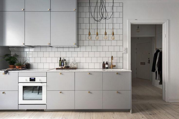 Die besten 17 Bilder zu My kitchen white auf Pinterest Regale - küchenschrank griffe günstig