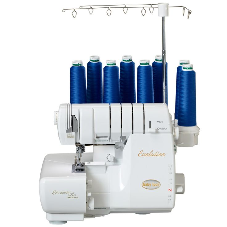 Babylock evolution serger with air threading. Worth. Every. Penny.