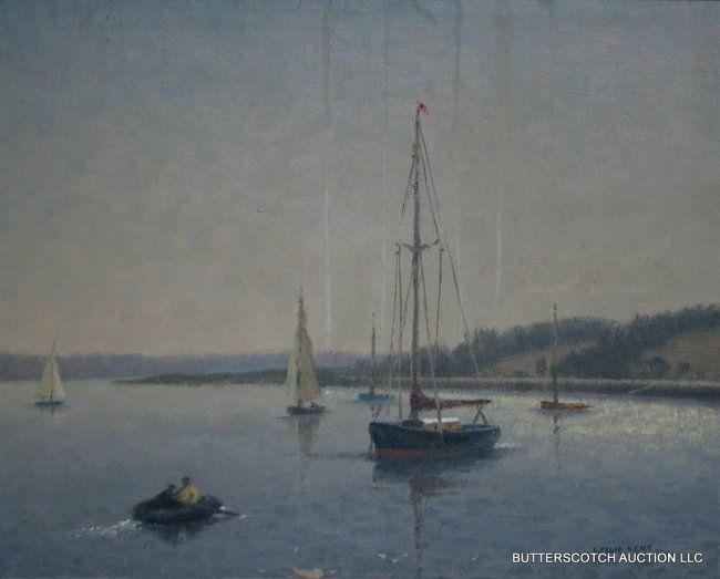 29: LESLIE KENT (BRITISH, 1890-1980) SEASCAPE : Lot 29