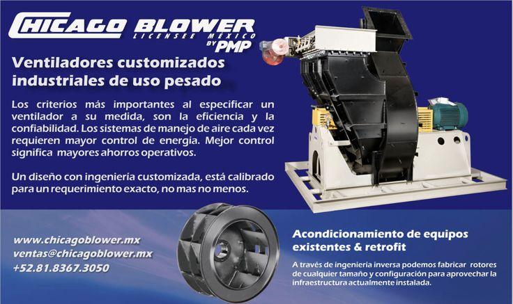 Ventiladores Industriales con certificación ISO 9001 de