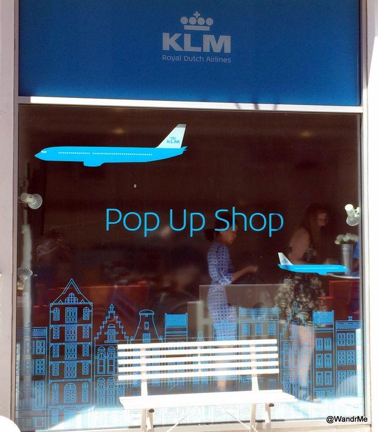 KLM opende een pop-up store in Soho New York om Nederland te promoten met o.a. onze Dance-muziek, stroopwafels etc. Elke dag konden bezoekers vliegtickets winnen naar Nederland.
