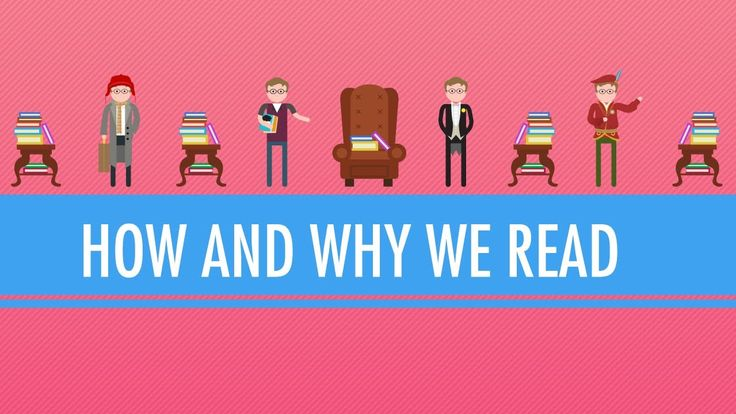 How and Why We Read: Crash Course English Literature #1; I will definitely show my students this video.