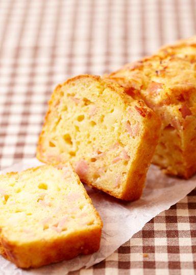 ハムとチーズのケーク・サレ のレシピ・作り方 │ABCクッキングスタジオのレシピ | 料理教室・スクールならABCクッキングスタジオ