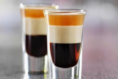 Impress Party Guests with Layered B-52 Shooters: The B-52 is a fun shot for parties and there are so many ways you can make it.
