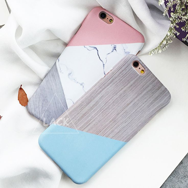 Marble Capa Coque Slim Hard Plastic Phone Cases Cover For iPhone 6 Case For iphone 6S 6 Plus Geometric Splice Stone Pattern Capa | iPhone Covers Online
