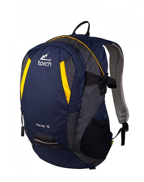BACKPACK PARMA Navy-Yellow 2