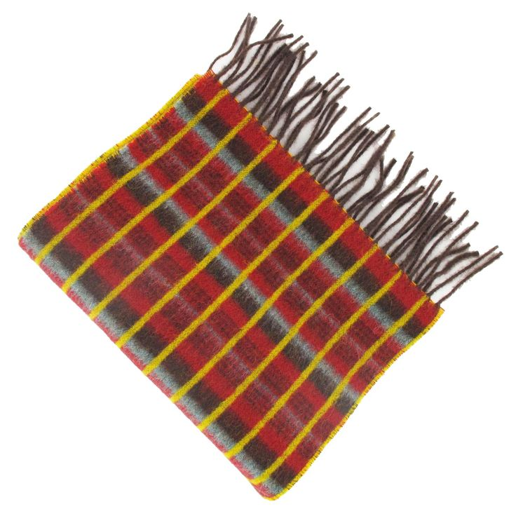 A beautifully soft and stylish 100% lambswool scarf featuring the Routemaster Moquette design. Available to buy at the London Transport Museum.