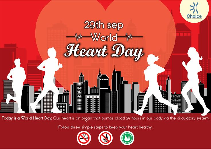 #ChoiceBroking #WorldHeartDay - Today is a World Heart Day. Keep your heart healthy with following steps.
