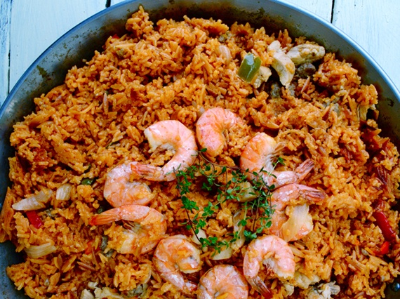 Easy Paella   Seafood Smorgasbord   Pinterest