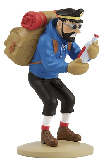 TINTIN FIGURINE NUMERO 34 COLLECTION disponible en France et en Belgique…