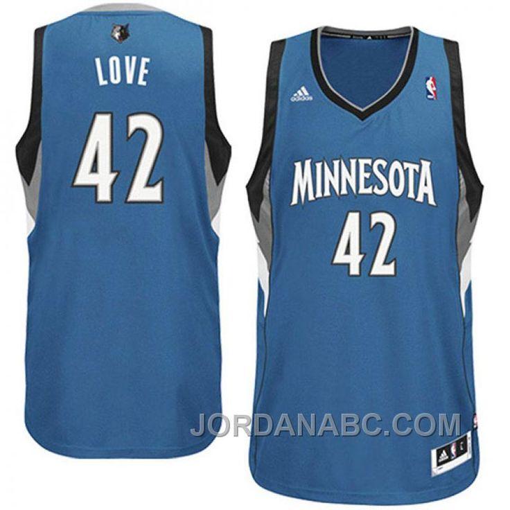 Kevin Love Minnesota Timberwolves Revolution 30 Swingman Jersey-Slate Blue