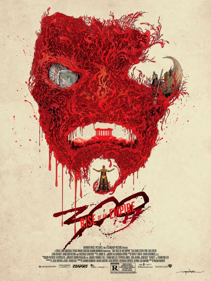 300: Rise Of An Empire by Alex Pardee