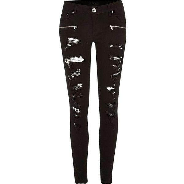 Best 20  Black Skinny Jeans Women ideas on Pinterest | Women's ...