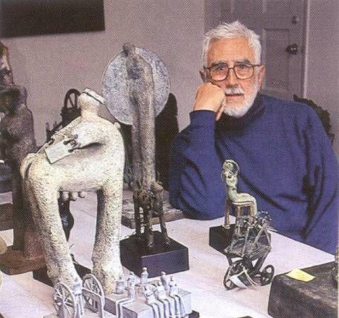 Jim Amaral, escultor, pintor - Foto: Mauricio Anjel