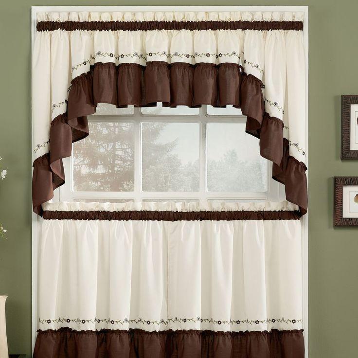 25 Best Ideas About Brown Kitchen Curtains On Pinterest Brown Apartment Curtains Door Window