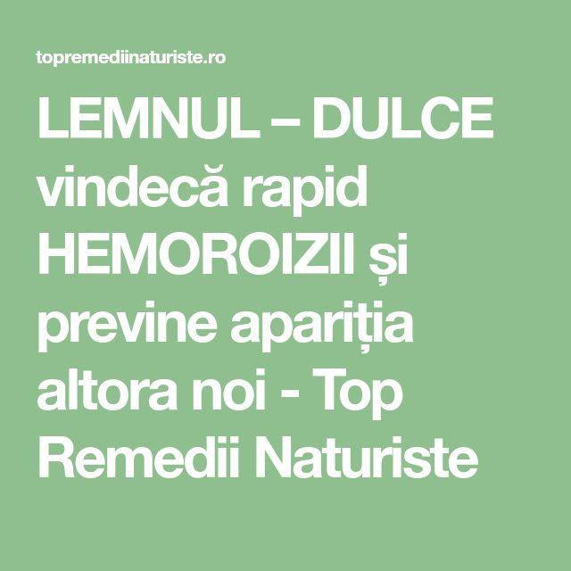 LEMNUL – DULCE vindecă rapid HEMOROIZII și previne apariția altora noi - Top Remedii Naturiste