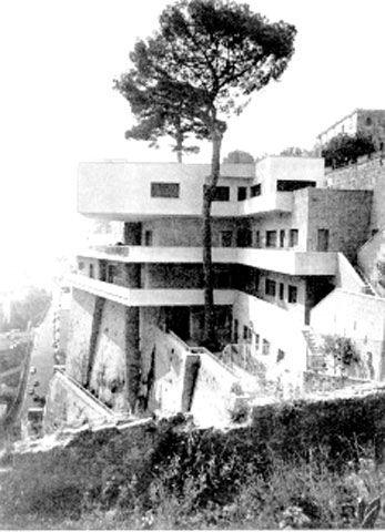 archilista: #ARCHIlista: Davide Pacanowski   Villa Crespi   Posillipo   Napoli 1952