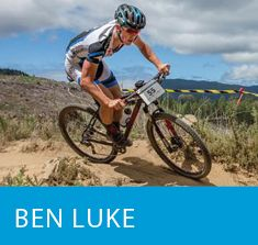 Ben Luke Outside Sports Road and Mountain Bike Athlete at Dean's Bank in Wanaka NZ.