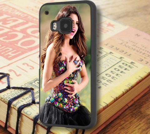 Selena Gomez Singer Beautiful HTC One M9 Case