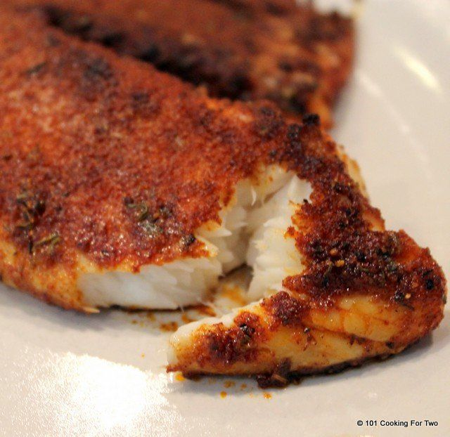 Great oven baked blackened tilapia. Bursting with spicy goodness, Everybody will love this easy recipe.