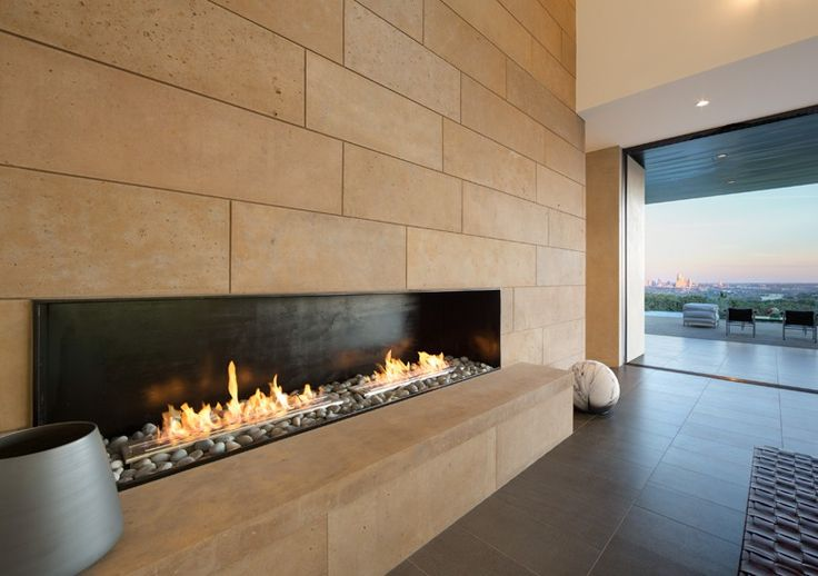Fireplace Ideas: Design Inspiration | City skylines, Fire places and  Kitchen sitting areas
