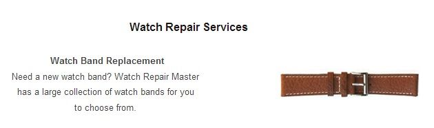 Watch Repair Master