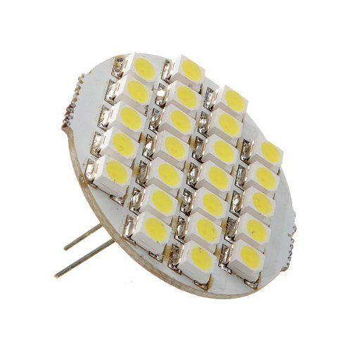 G4 24 SMD LED Spot Ampoule Lampe 1.5W 90lm DC 12V 6500-7500k blanc froid: G4 24 SMD LED Spot Ampoule Lampe 1.5W 90lm DC 12V 6500-7500k…