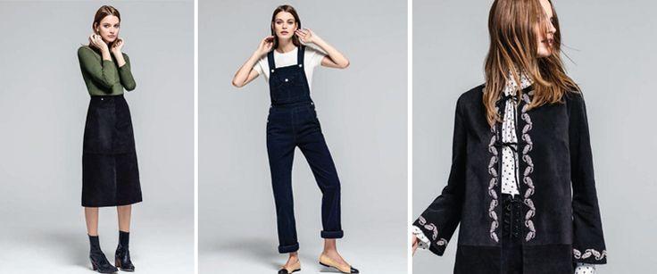 Cette deuxième collection entre l'icône de mode anglaise et la marque californienne  de denim AG Jeans, a été inspirée par un gang imaginaire de filles un brin délinquantes traversant le désert. 'Je ne sais pas d'où elles viennent, je ne suis pas sûre d'où elles vont…mais voici ce qu'elles portent.' Alexa Chung  #LeBonMarche #tendance #trend #style #fashion #mode #icon #inconic #rock #gypset