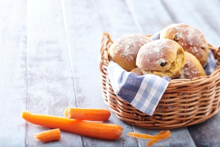 Muhevat porkkanasämpylät | K-Ruoka #aamupala #brunssi