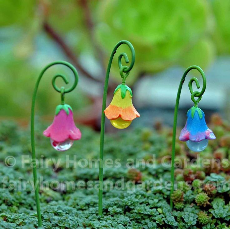 Fairy Homes and Gardens - Fairy Glow Flowers - Set of 3, $7.35 (https://www.fairyhomesandgardens.com/fairy-glow-flowers-set-of-3/)