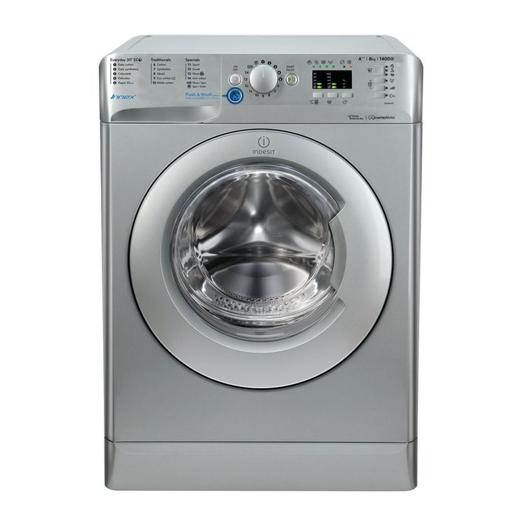 Buy a Indesit Innex BWA 81483X S Washing Machine - Silver ...