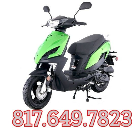 TAOTAO NEW SPEED 50---REPLACEABLE PLASTIC BODY GAS STREET LEGAL SCOOTER Sale Price: $599.00