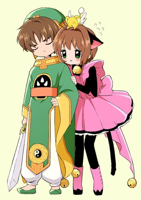 Sakura & Shaoran.