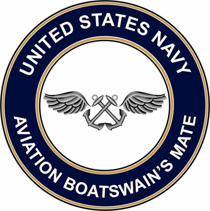 Navy Aviation Boatswain's Mate | Home Patriotic Navy Shop By Category Decals & Stickers US Navy Rate ...