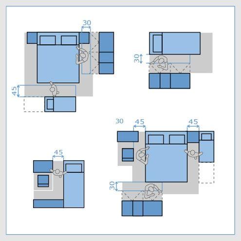 Эргономика вашей спальни - Стройдодыр - интерьер-портал