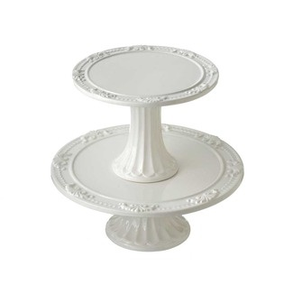 These simple white cake stands let your confection be the showpiece.  sc 1 st  Pinterest & 431 best Cake Plates/Stands images on Pinterest | Cupcake stands ...