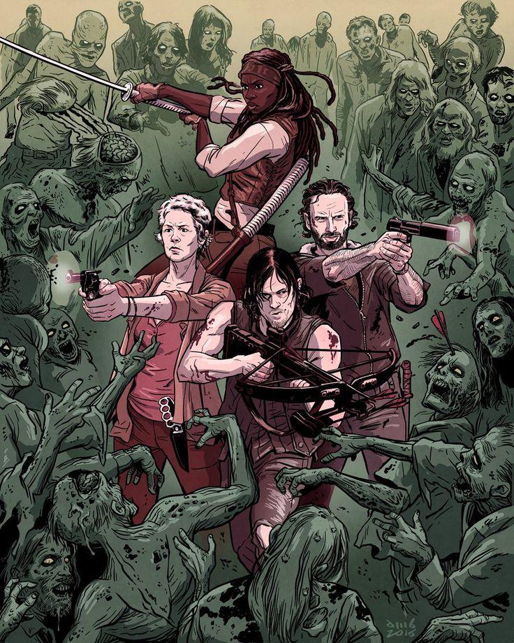 The Walking Dead - David M. Buisán