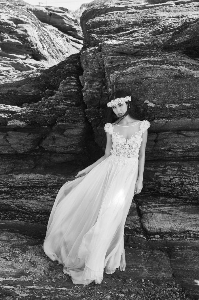 Vestido de noiva para casamento na praia - Editorial de moda Inesquecível Casamento