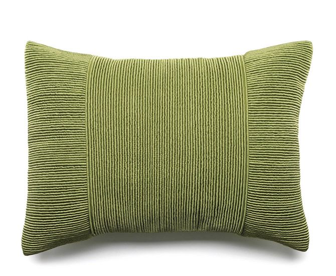 The Tessa Pleated Pillow - Green from Urban Barn is a unique home decor item. Urban Barn carries a variety of Pillows and other  products furnishings.
