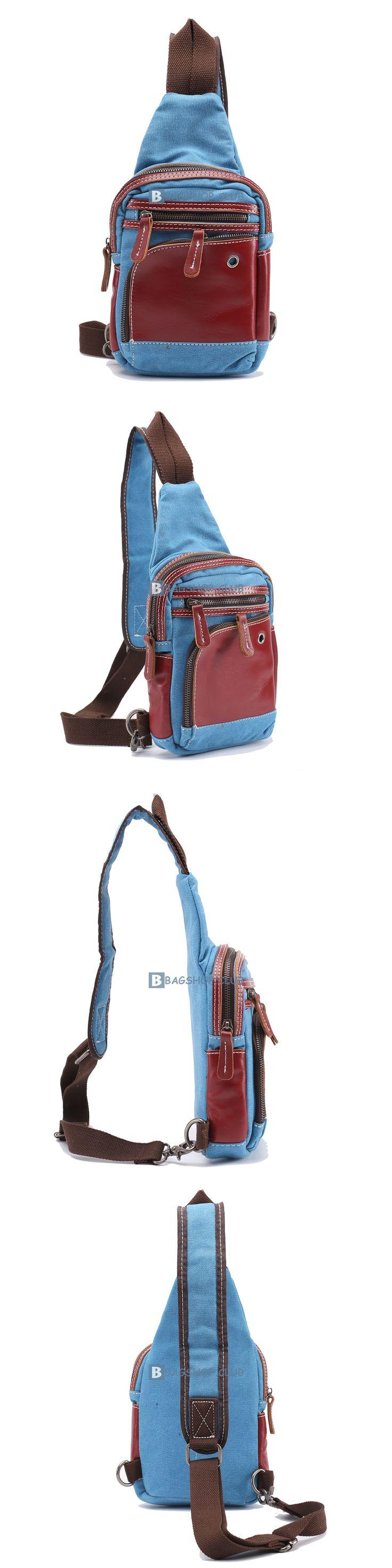 $55.99 Small Sling Bag For MenSingle Strap Backpack