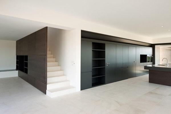 Build-in, custom made furniture. Nice.