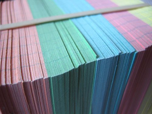 25 uses for index cards- great idea - great site