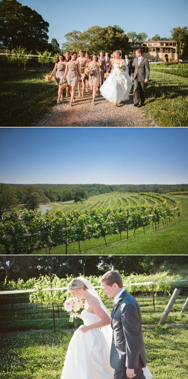Beautiful wedding at Montaluce Winery & Estates in Dahlonega, Georgia.