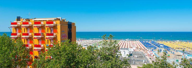 Hotel Ariane direttamente sulla spiaggia a Rimini